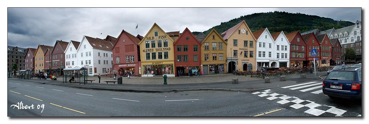 Bergen - Bryggen 2