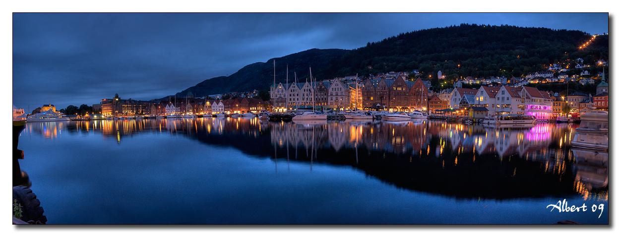 Bergen - Bryggen de nit