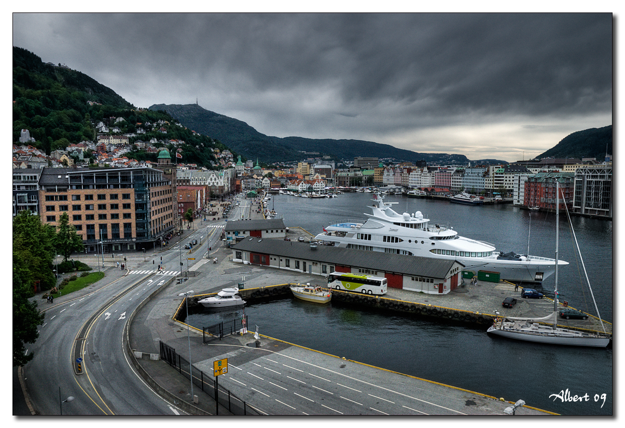 Bergen - Vista des del Castell