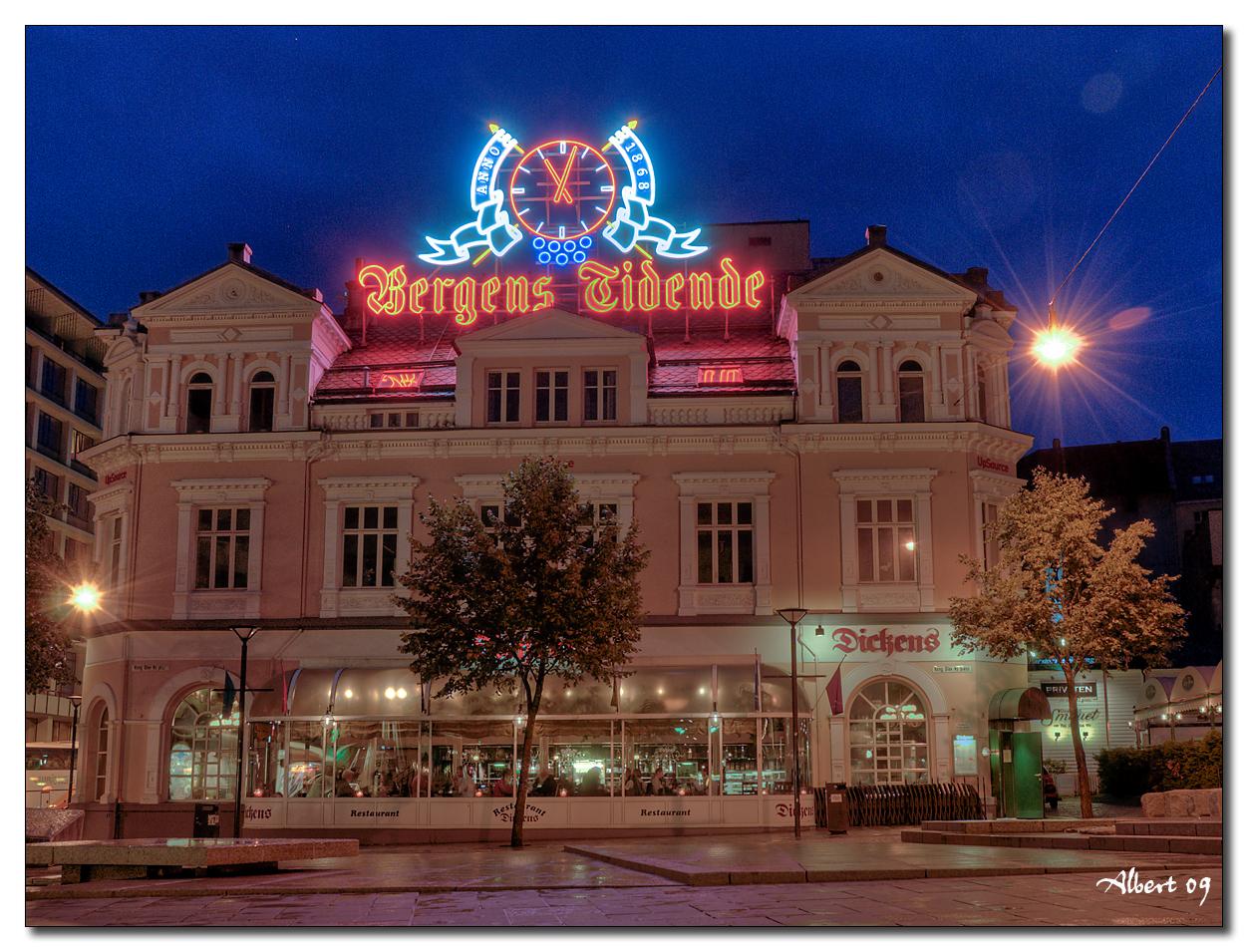Bergen - Dickens de nit