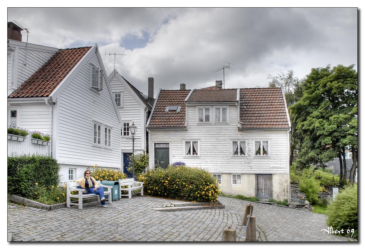 Stavanger - Barri antic