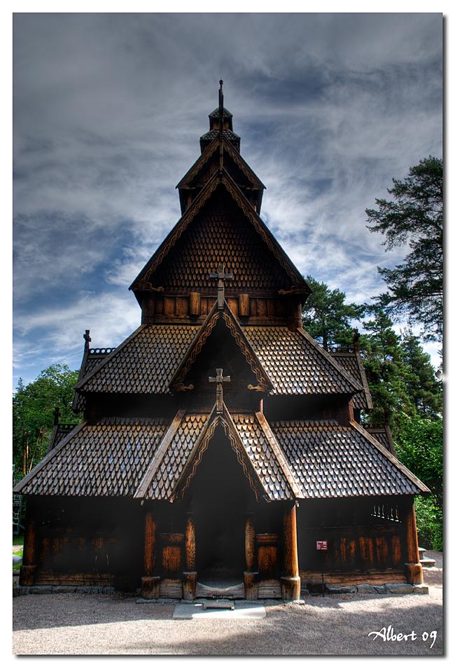 Oslo - Norks Folkemuseum 1
