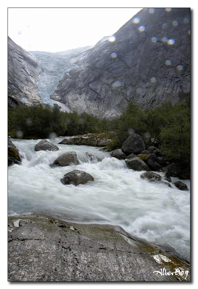 Glaciar de Briksdalbreen 2