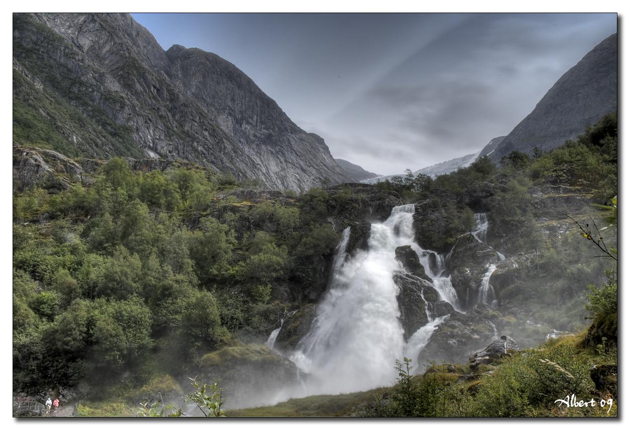 Glaciar de Briksdalbreen 4