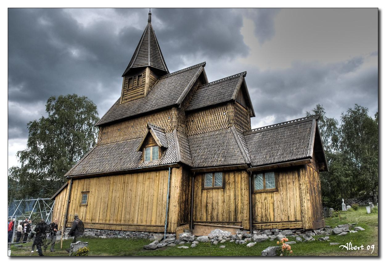 Ornes - Urnes stavkirke