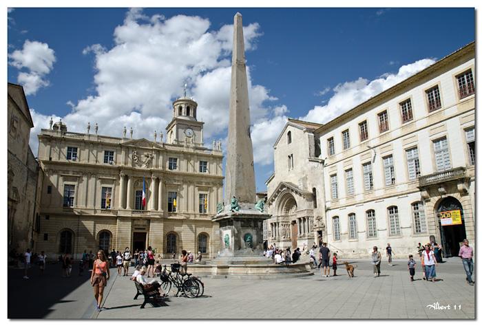Plaça de l'Ajuntament i Obelisc egipci