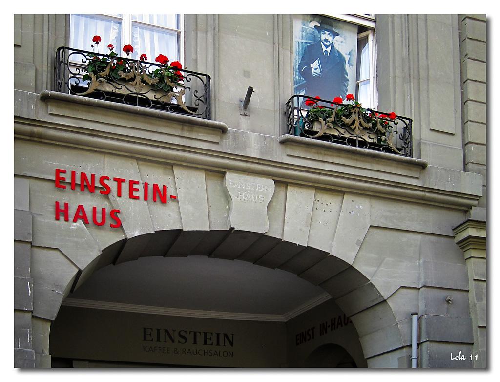 La casa d'Einstein