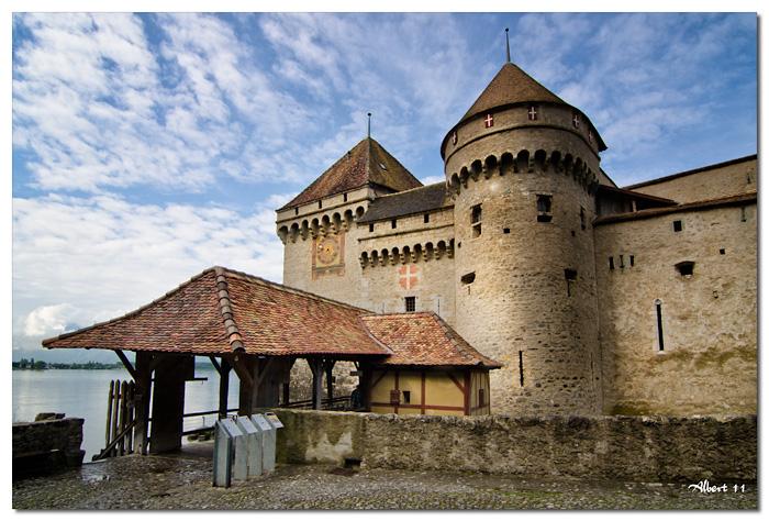 Entrada al castell