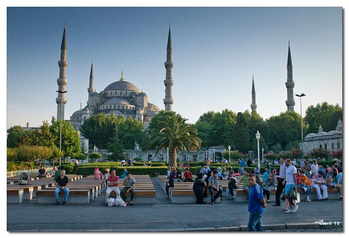 La Mesquita blava