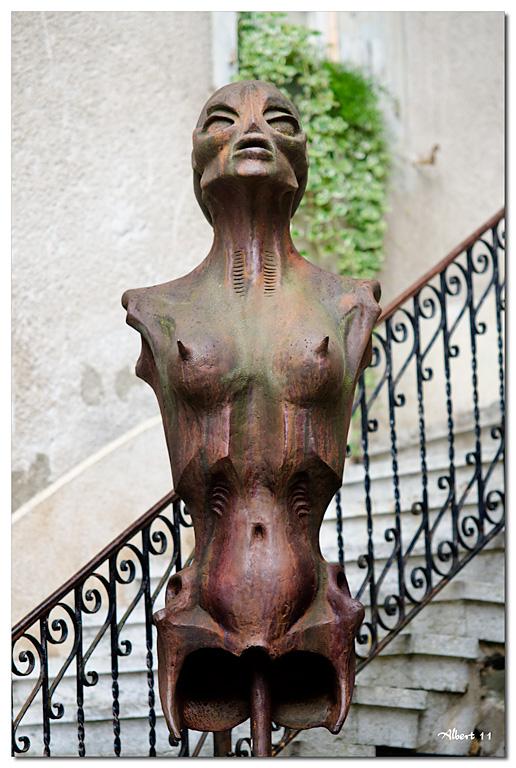 Dona sense braços