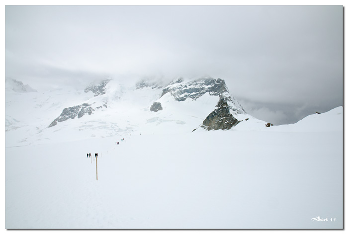 Caminant en la neu