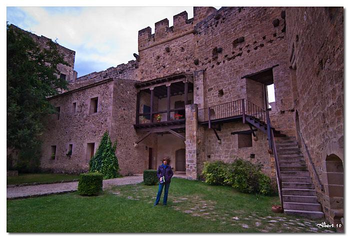 El castell per dins