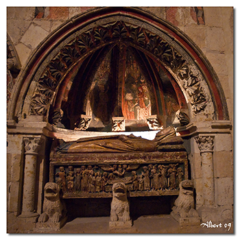 Detall de la Capella de la Catedral Vella